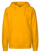 Mens Hoodie - Yellow