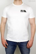 True Rebel T-Shirt AFA 2.0 Pocket Print White