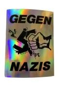 Gegen Nazis -  (hologramm) (15 Stück)