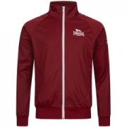 Lonsdale Track Jacket Calshot Wine Red