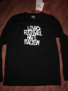Love Football Hate Fascism  ( FAIRTRADE ) -NEU