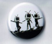 Banksy - TV heads