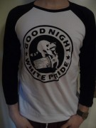 GOOD NIGHT WHITE PRIDE Waschbär ( Fairtrade ) -3/4 Sleeve-