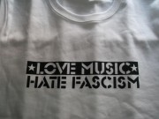 Love Music - Hate Fascism ( FAIRTRADE )