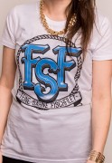 Feine Sahne Fischfilet - FSF (white-blue)  ( Fairtrade )