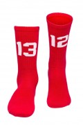 Sixblox Socks 1312 Red White