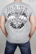 Less Talk T-Shirt Bareknuckle Greetings Grey