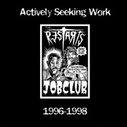 RESTARTS - Actively Seeking Work LP ( colored )