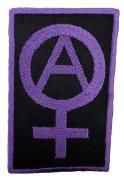 Anarchie - Feminismus  (gestickt)