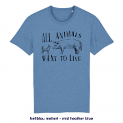 All animals want to live