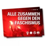 Alle zusammen gegen den Faschismus –  ( 30 Stück )