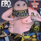 SEEIN RED / F.P.O. - Split LP