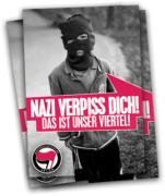 Nazi Verpiss dich! Das ist unser Viertel