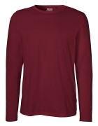 Longsleeve - Bordeaux- ( Fairtrade )