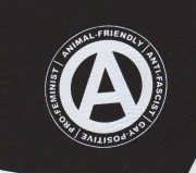 Animal-Friendly, Anti-Fascist, Gay-Positive, Pro-Feminist ( Typ II )