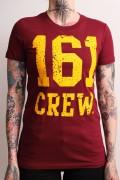 161 Crew -bordeauxrot-