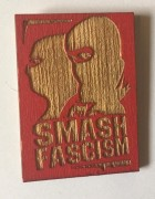 Smash Fascism Magnet