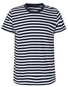 White Navy Striped (Fairtrade)