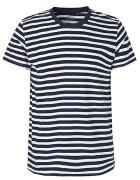 White Navy Striped (Fairtrade)