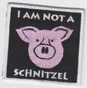 I AM NOT A SCHNITZEL -gestickt-
