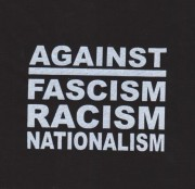 Against Fascism Racism Nationalism