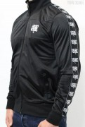 True Rebel Track Jacket Taped Black