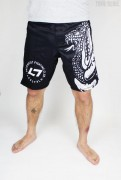 Less Talk Shorts MMA Snake Black