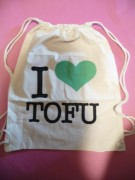 I LOVE TOFU - Turnbeutel -