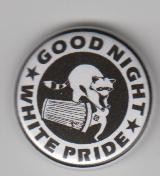Good Night White Pride Waschbär