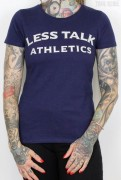 Less Talk Shirt Athletics Navy