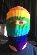 Rainbow Mask  Sturmhaube