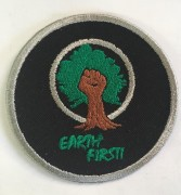 Earth First - gestickt