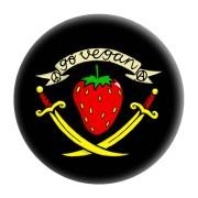 Go Vegan Erdbeere