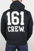 Zip Hoodie 161 Crew Black
