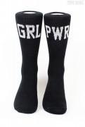 Sixblox. Socks GRL PWR Black White