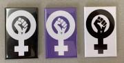 Feminist Fist Set - Flächenmagnet