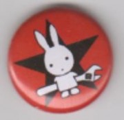 Rabbit with Wrench ( rot )