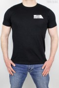 True Rebel T-Shirt AFA 2.0 Pocket Print Black