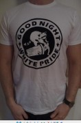 Good Night White Pride Waschbär (m und 2 XL) ( FAIRTRADE )
