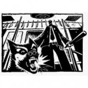 Drooker - Police Dog