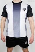 True Rebel Football Jersey Black White