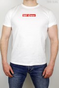 True Rebel T-Shirt 161 Crew White Red