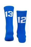 Sixblox Socks 1312 Blue White