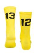 Sixblox Socks 1312 Yellow Black