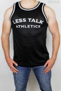 Less Talk Mesh Tanktop Athletics Black