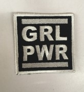 GRL PWR  -gestickt-
