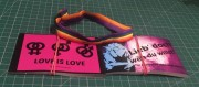 love is love Set (2 Pakete Sticker und 1 Band  )