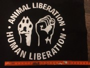 Animal Liberation- Backpatch