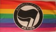 Antihomophobe Aktion -Regenbogen-
