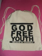 GOD FREE YOUTH - Turnbeutel-